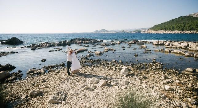 Ceremonie na plaży