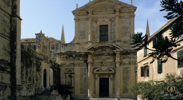 Church of St. Ignatius in Dubrovnik
