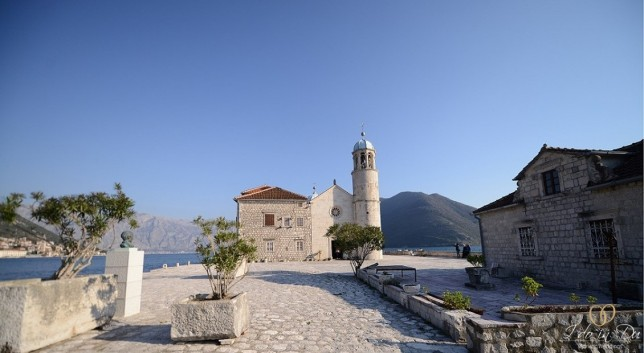Church of Our Lady of the Rocks in Montenegro