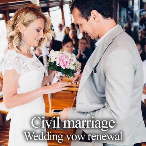Symbolic wedding - Wedding vow renewal