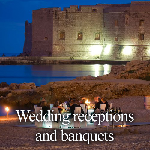 Wedding receptions and banquets