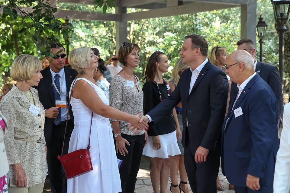 Spotkanie polonijne z Prezydentem Andrzejem Dudą w Dubrowniku
