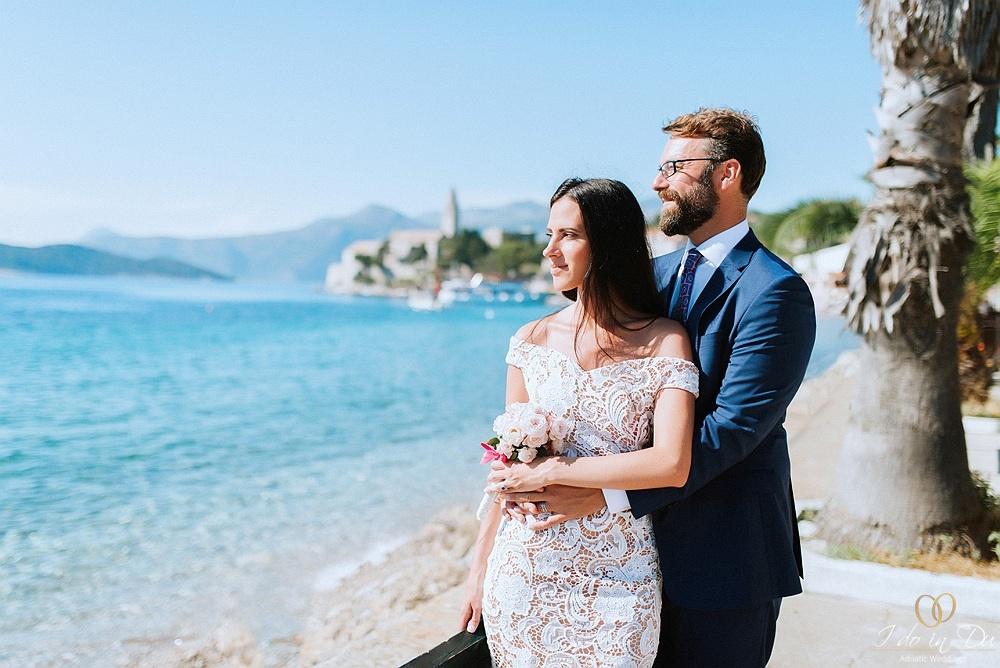 Niki & Kyle - symboliczny ślub na wyspie Lopud